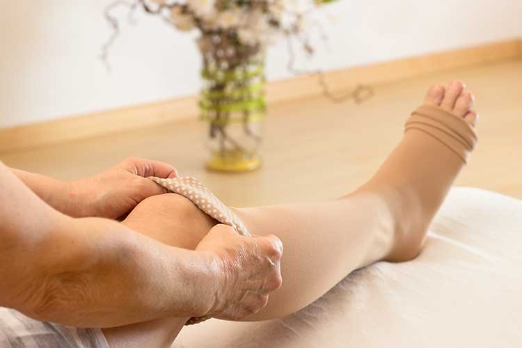 compression stockings client education