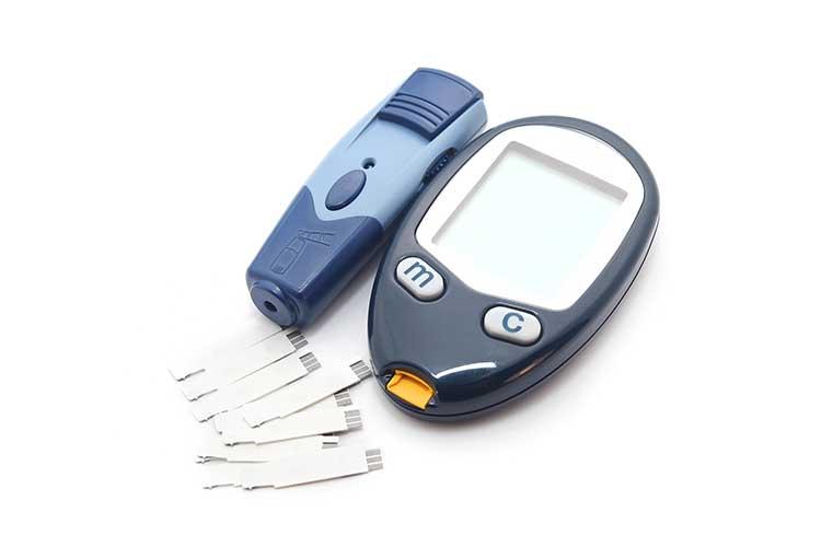 blood glucose monitoring equipment meter lancet device checking strips