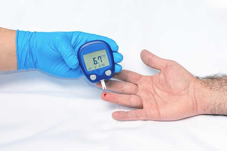 blood glucose monitoring target