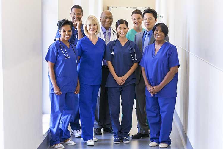 responsive care diverse staff