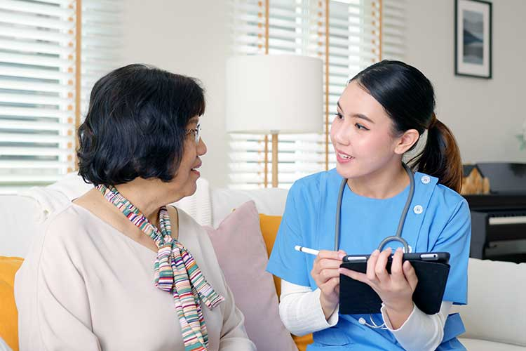 responsive care matching worker to participant