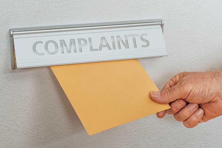 complaints box