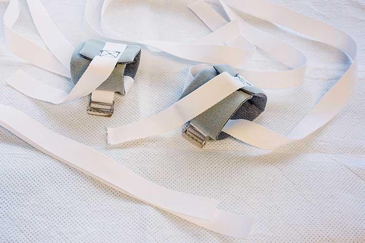 mechanical restraint hand restraints