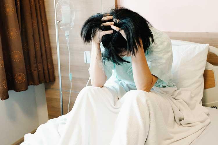 upset patient