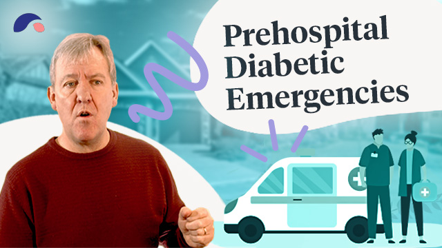 Cover image for lecture: Prehospital-Diabetic Emergencies