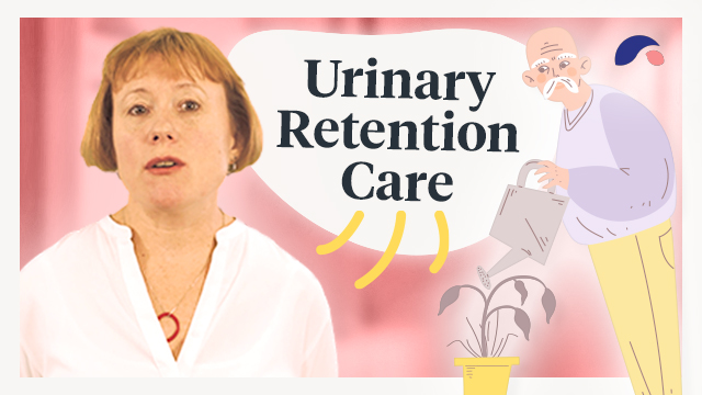 Cover image for lecture: Urinary Retention Care