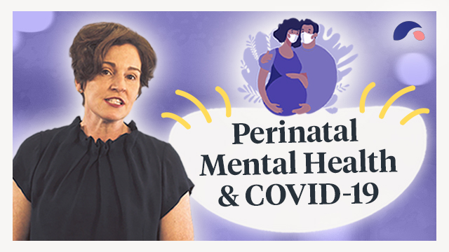 Cover image for lecture: The Impacts of COVID-19 on Perinatal Mental Health