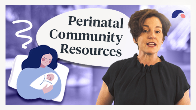 Cover image for lecture: Community Resources for Hopeful, Expectant and New Parents